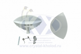 Ручка люка Ariston, Indesit C00075323 в сборе DHL001ID AR3848
